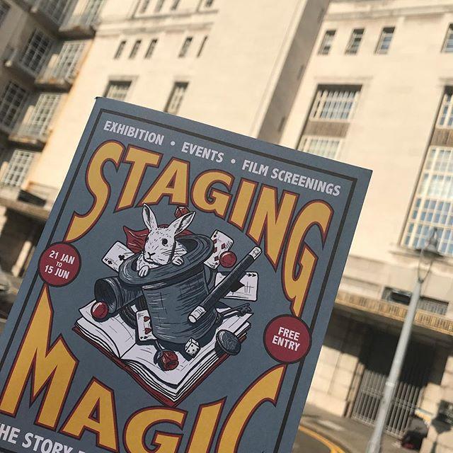 senate house library brochure on magic