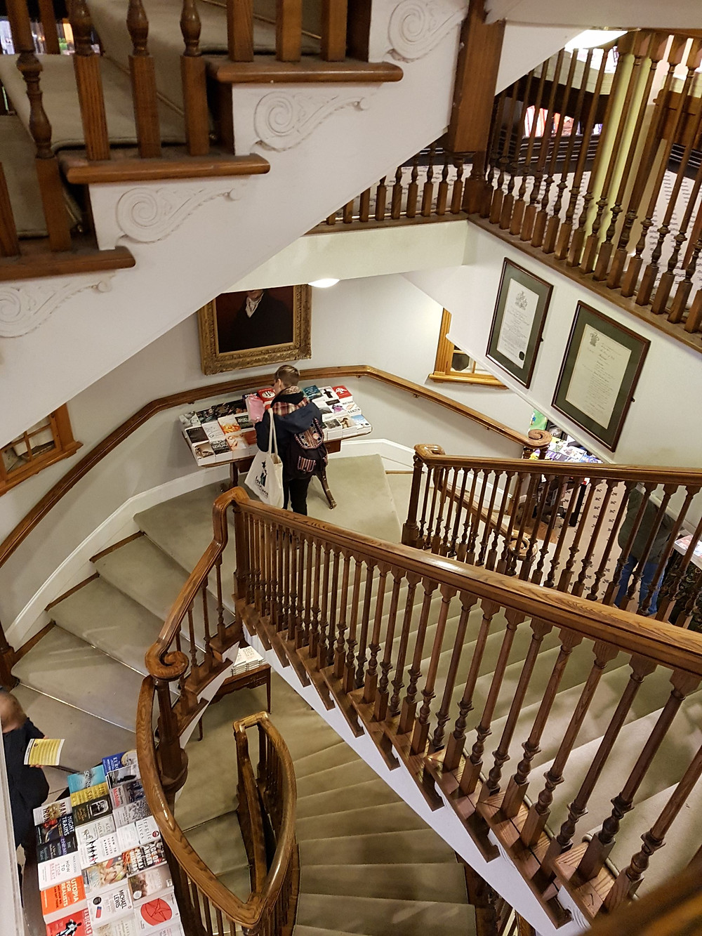 bookshop staircase