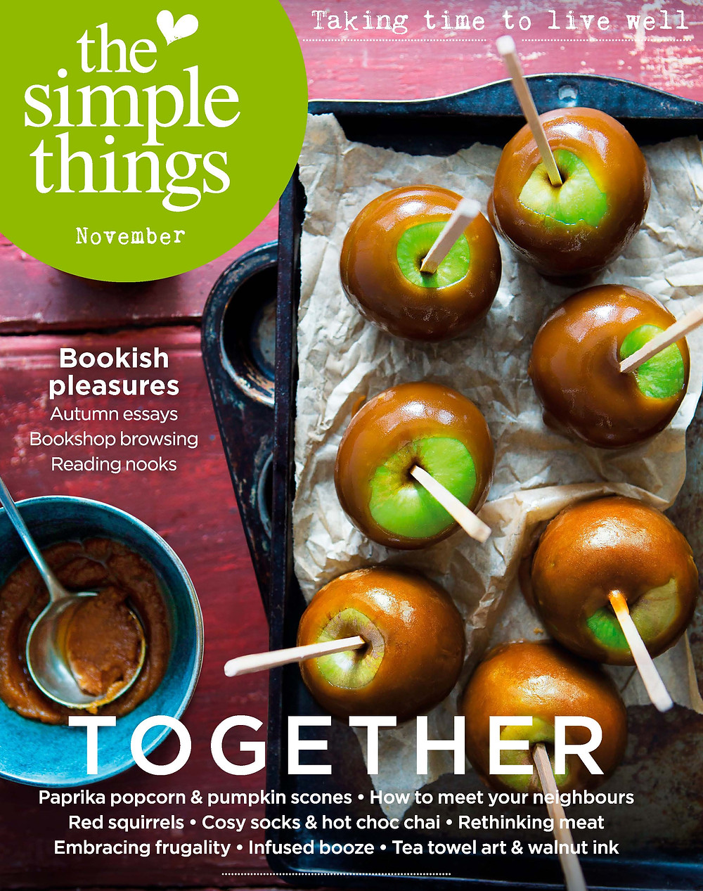 Cover of The Simple Things magazine November 2018