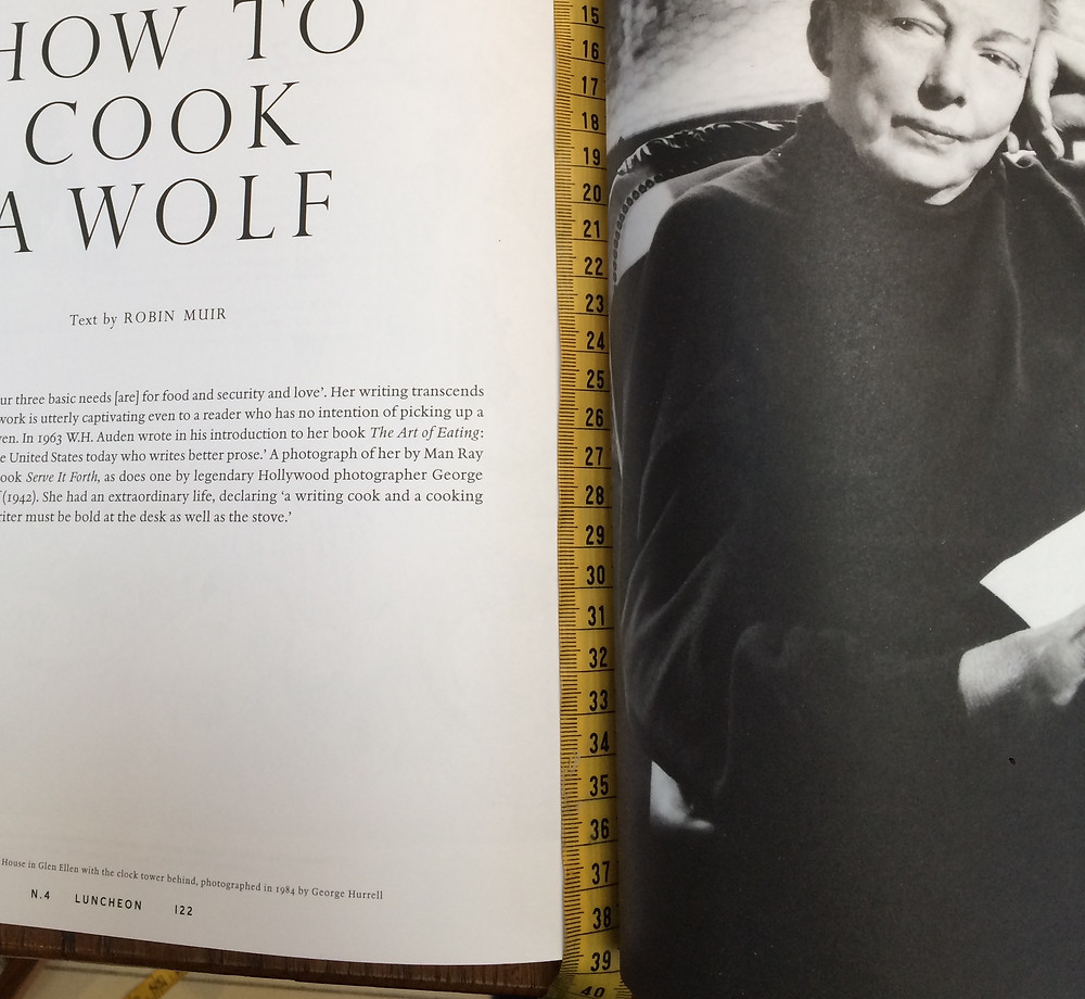 Luncheon magazine, article by Robin Muir