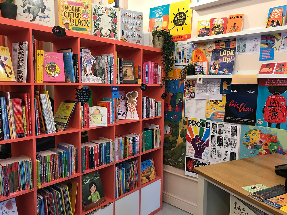 Round Table bookshop interior