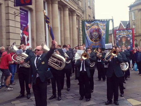 Saddleworth Whit Friday band contest 2018 Grains Bar Hotel