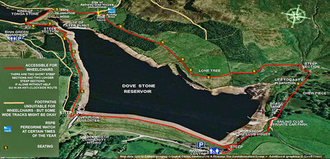 Map and guilde of Dovestones