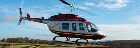Helicopter rides available