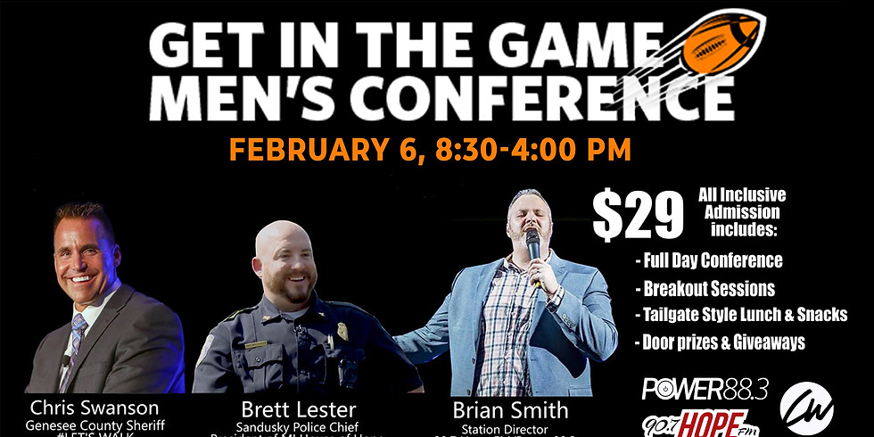 Get in the Game Men's Conference