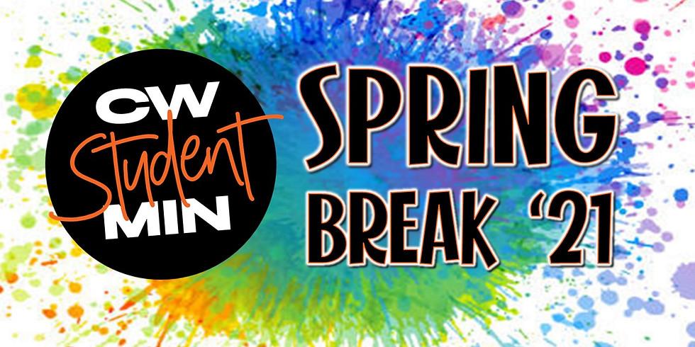 Student Ministries Spring Break Week!