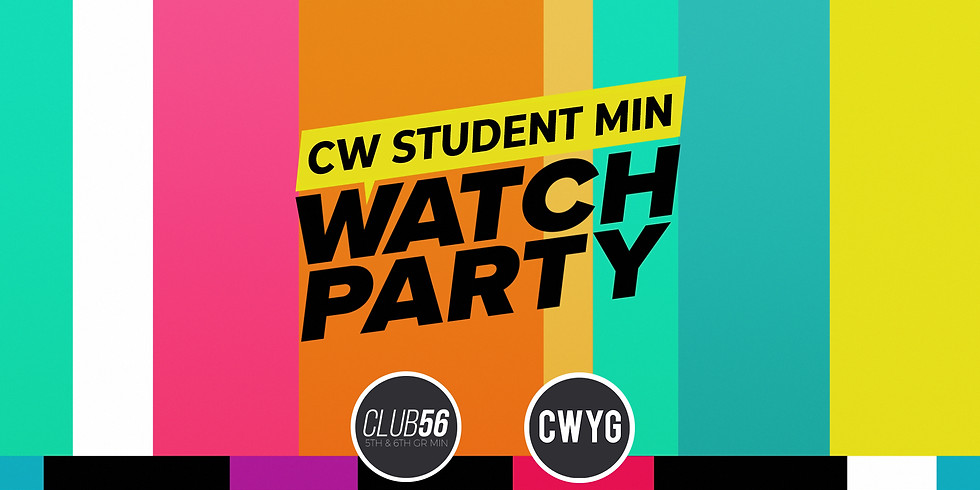 CWYG Watch Party on the Lawn