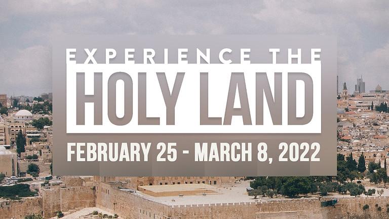 Holy Land Trip 2022