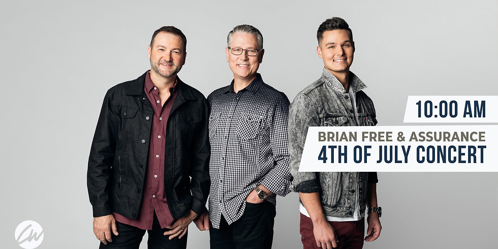 4th of July Concert - Brian Free & Assurance