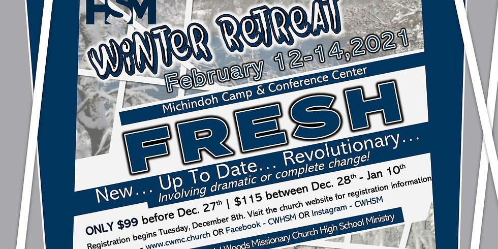 HSM FRESH Winter Retreat   Registration Now Open!