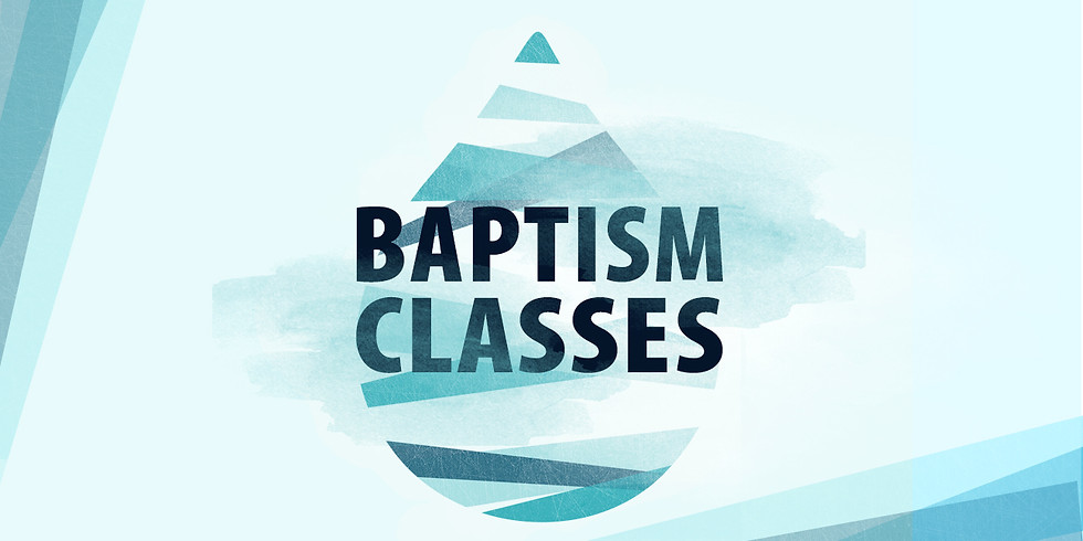 Beach Baptism & Baptism Classes