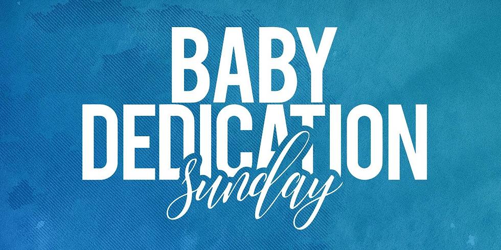 Baby Dedication Sunday