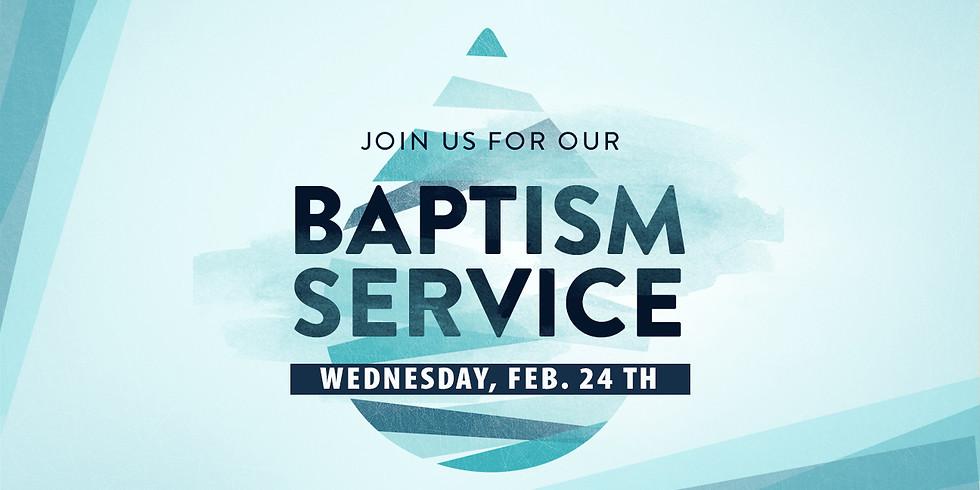 Baptism Service