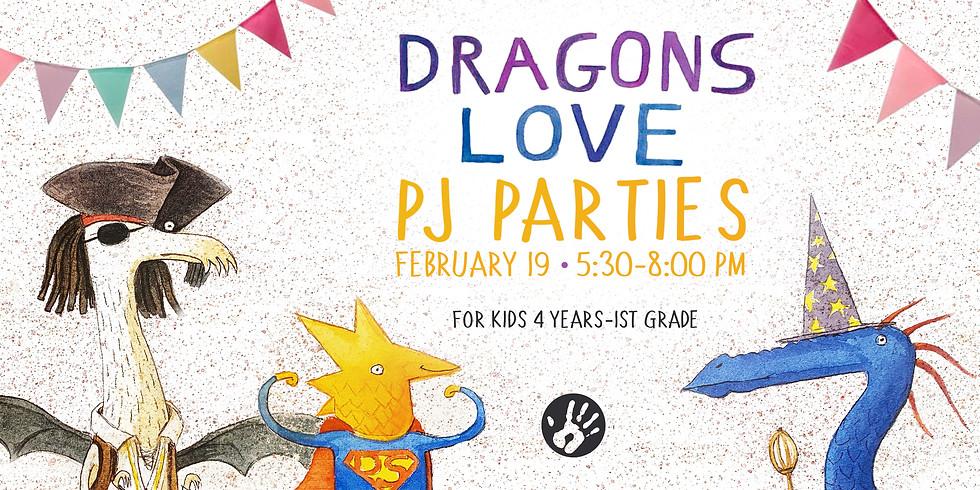 Dragons Love PJ Parties