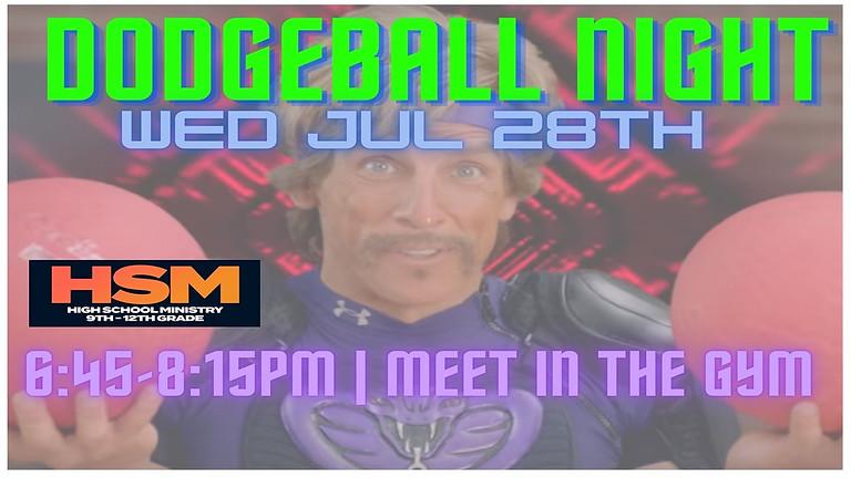 HSM Dodgeball Night!
