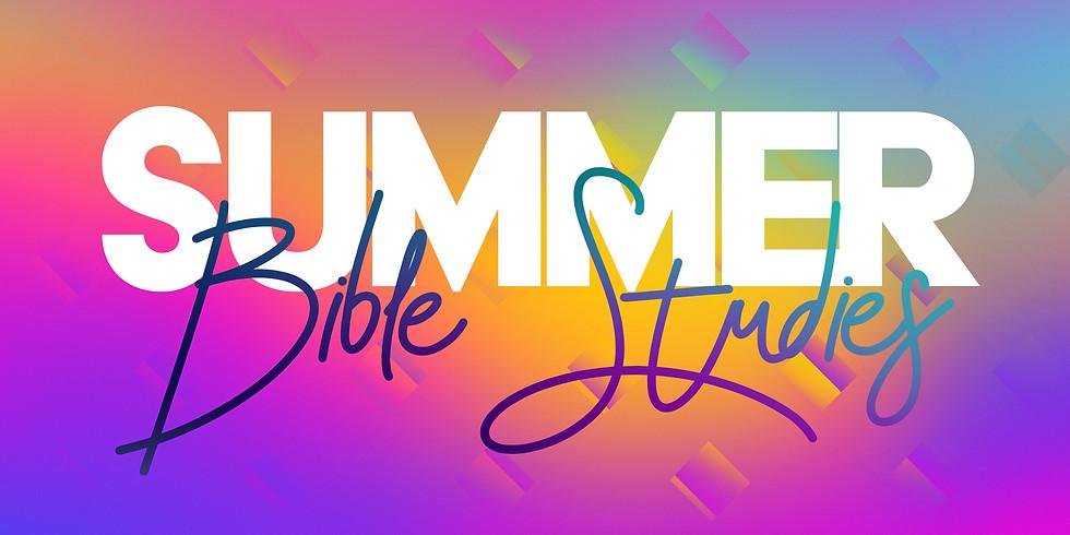 CWYG Summer Bible Studies
