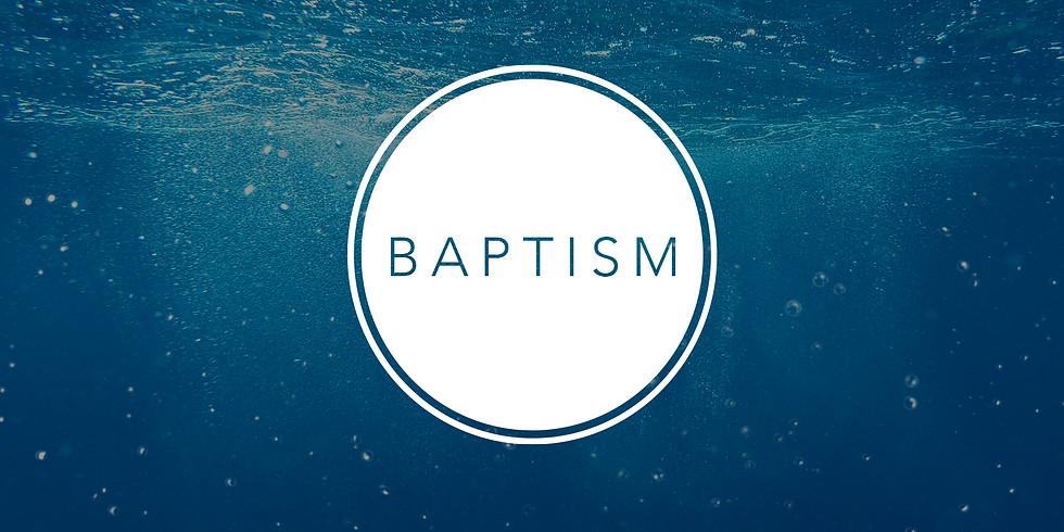 Student Ministries Baptism Service