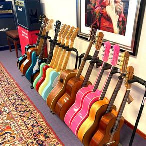 gitaarles maar geen gitaar?