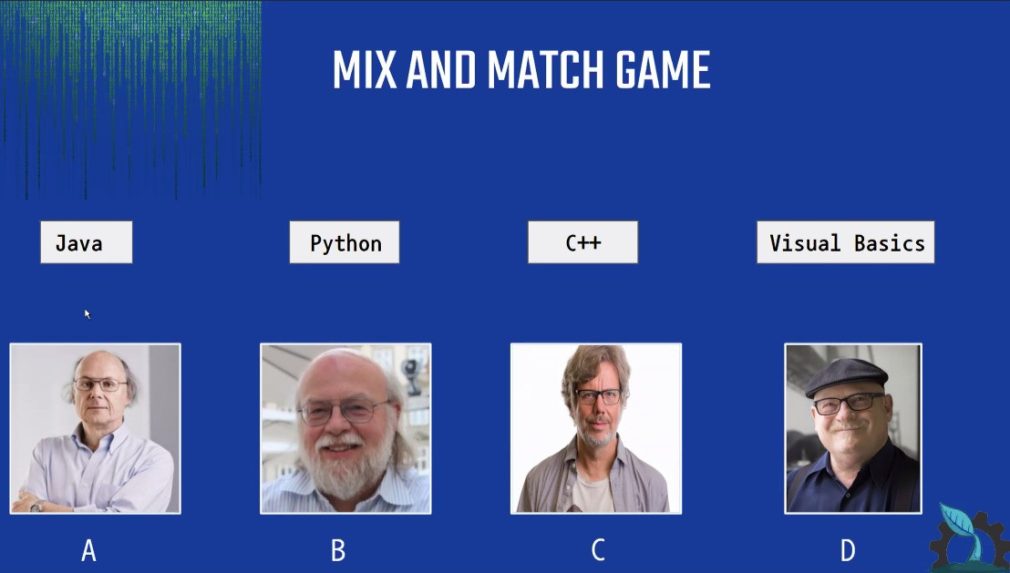 Mix and Match Coding