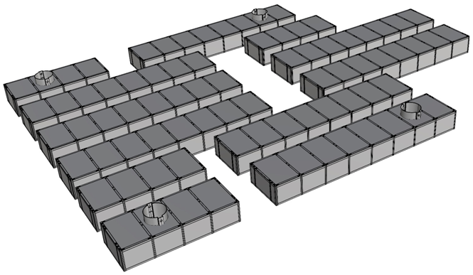 Самоподъемная платформа лебедки 1