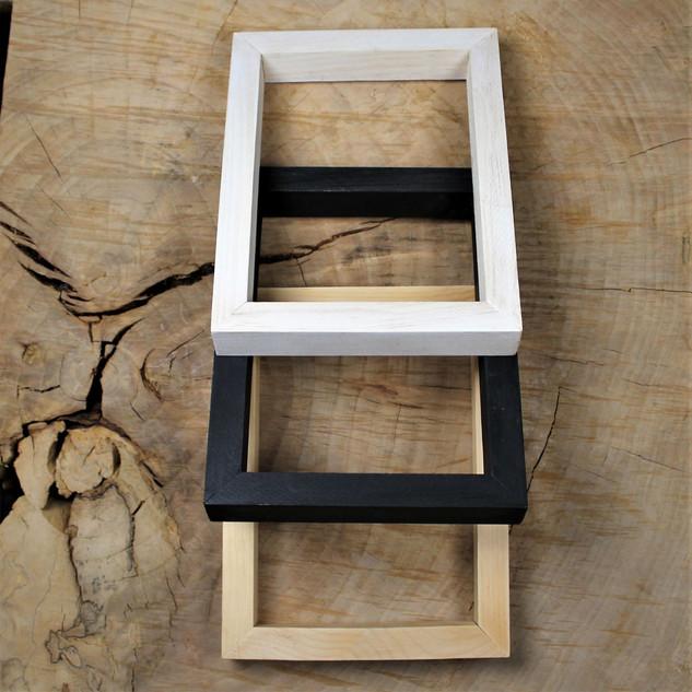 Environmentally friendly Canadian Wood Frames.