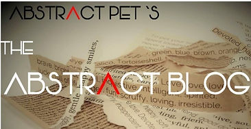 The ABSTRACT BLOG scratches at the pet-love fever that affects us all.