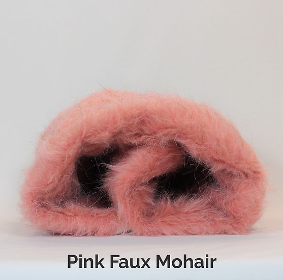 Pink Faux Mohair Kneadie™