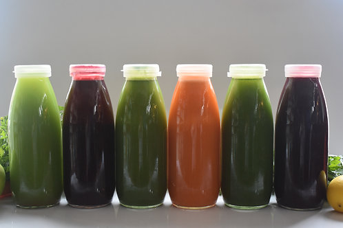 Sıvı Detoks Paketi  / Juice Cleanse - 6 Juices