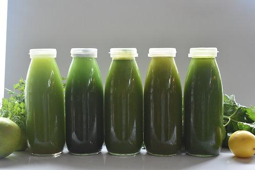 Yeşil Sıvı Detoks Paketi  / Green Juice Cleanse - 5 Juices