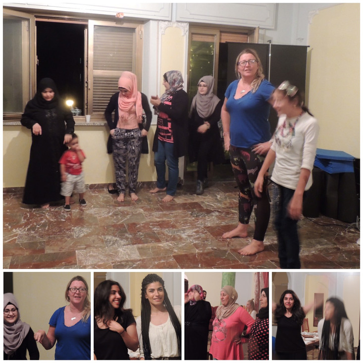 As part of Ladies Night on Wednesday I got the chance to run another Laughter Yoga session. After so