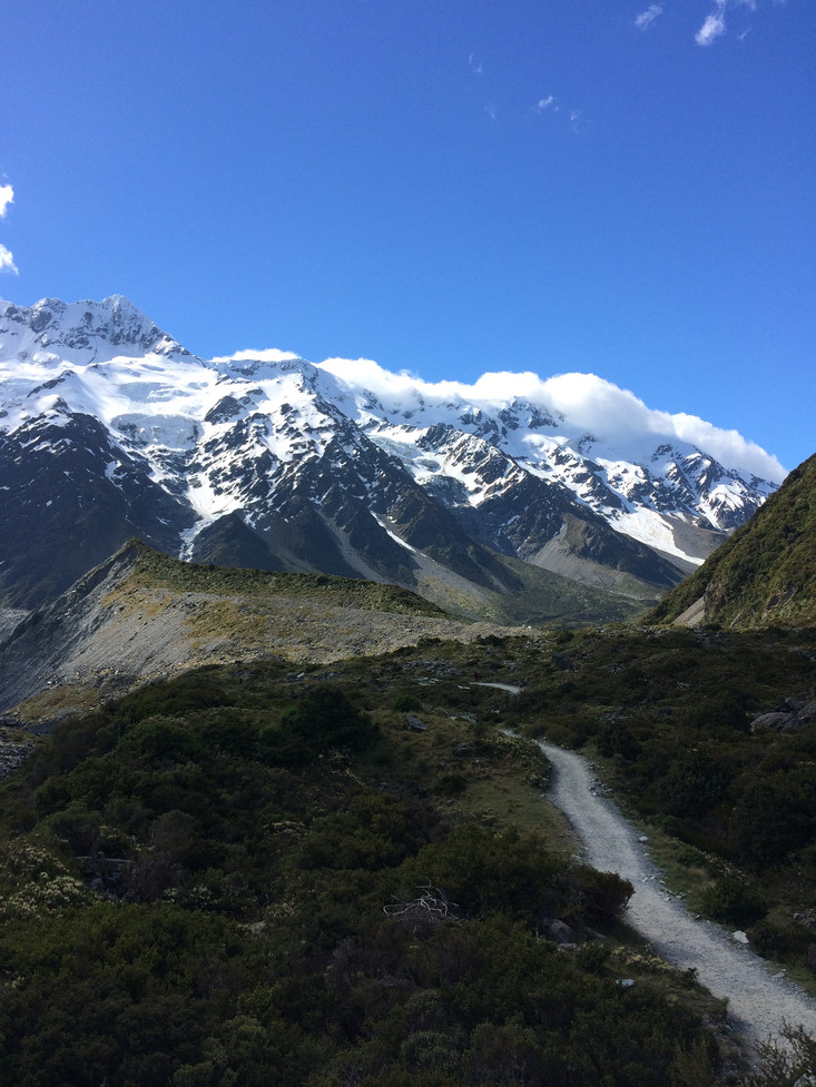 The third and final trek of the NZ tour was to see Mount Cook, the highest peak in New Zealand at 37