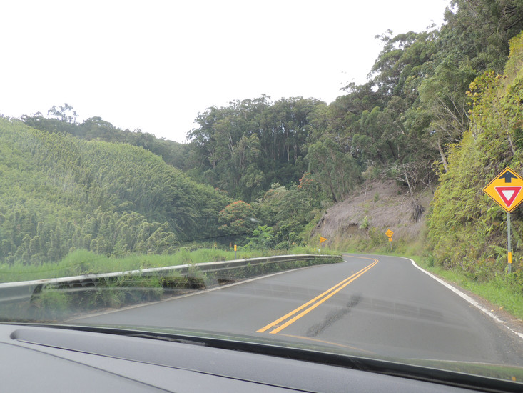 The Road to Hana is a 64 mile drive along the rugged, North East, coastline of Maui. The commentary