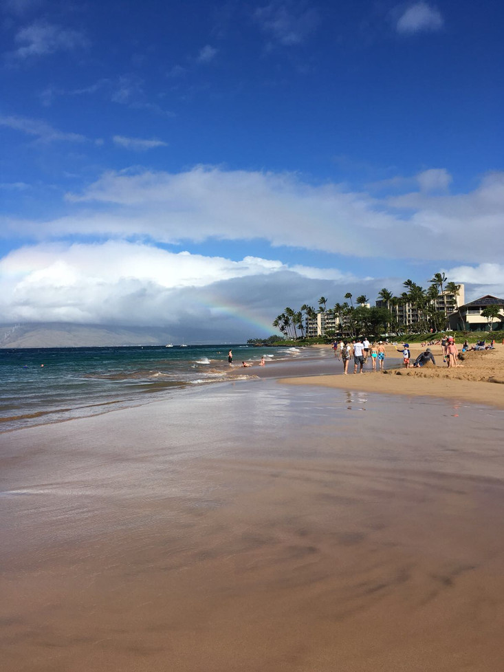 Our first full day on Maui coincided with the national holiday of Thanksgiving. To celebrate we spen