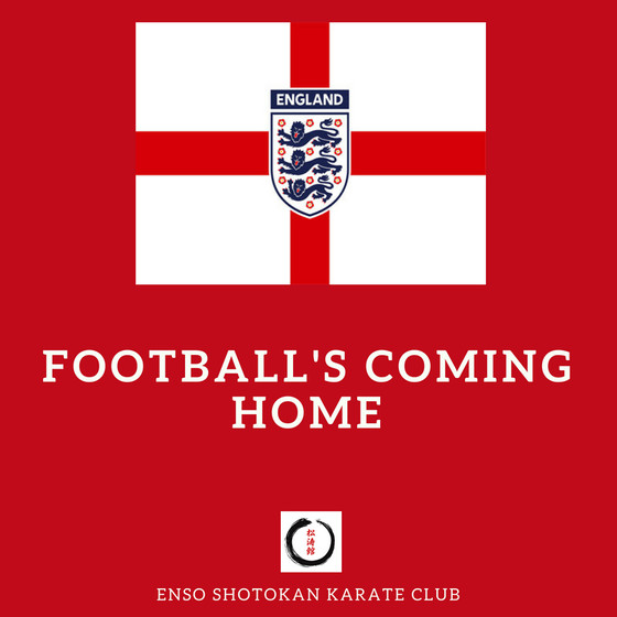 No training 11th July 2018 due to football coming home!