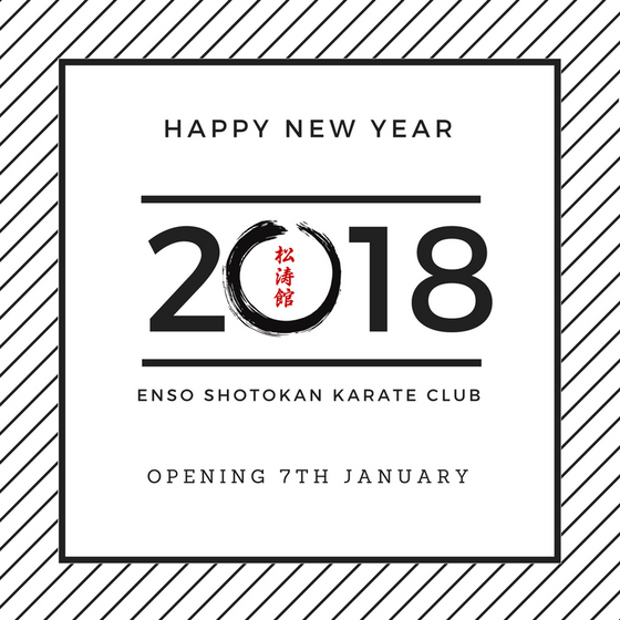 2018: A New Year, A New Dojo And An Old Tradition
