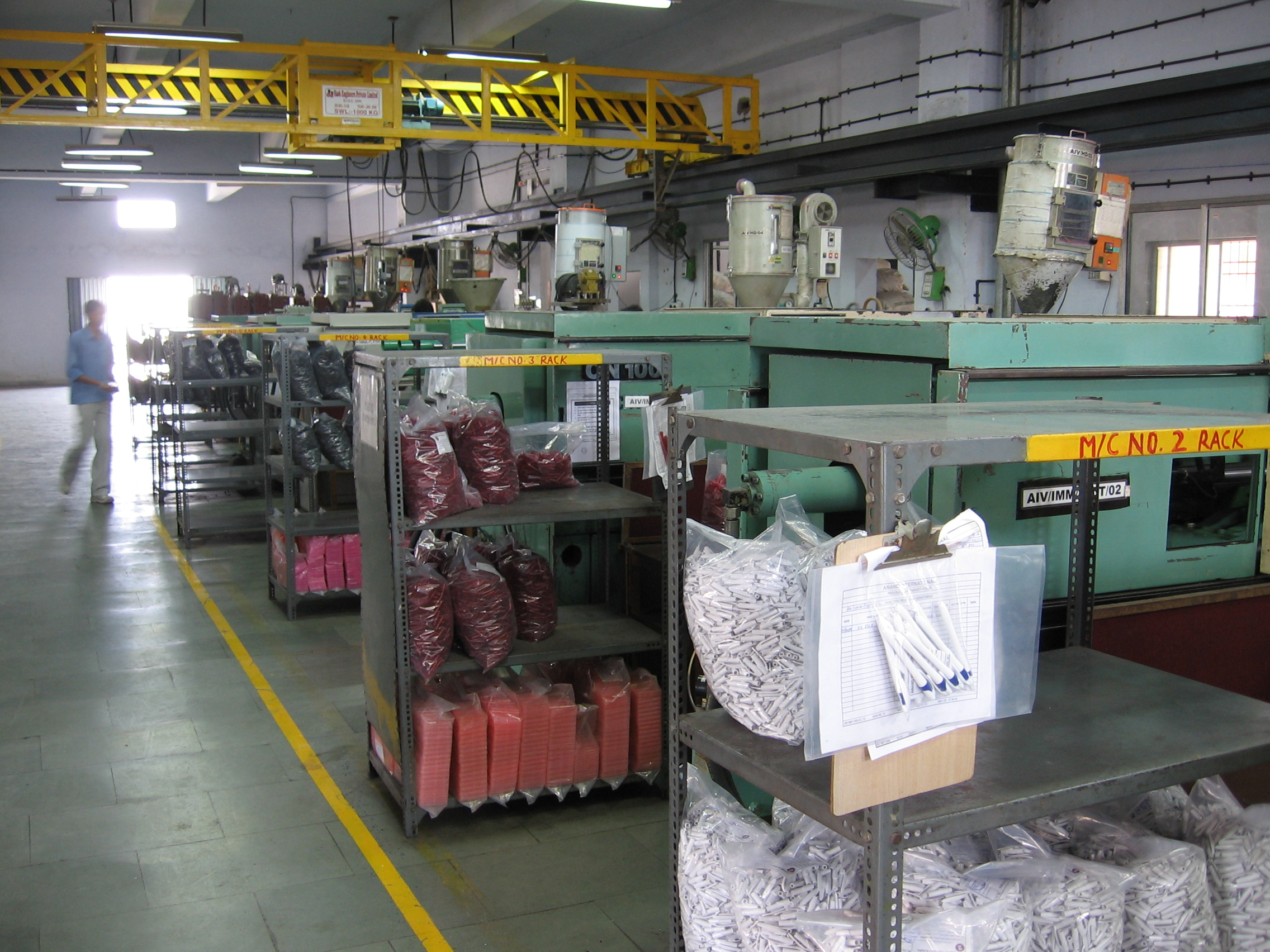 2 - Molding Department