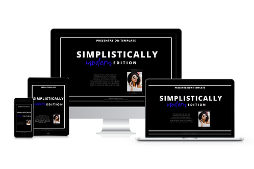 Simplistically Modern Complete Template Bundle