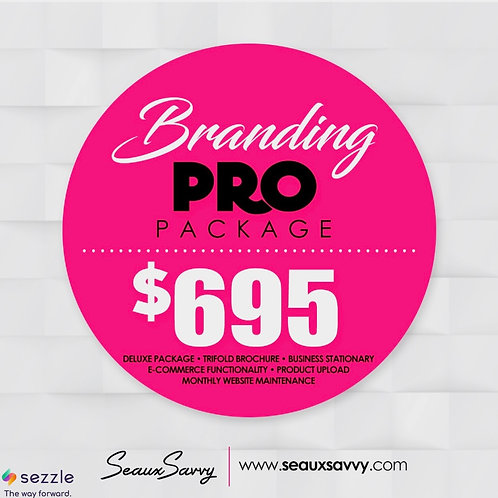 Branding Package (Pro) - Sezzle