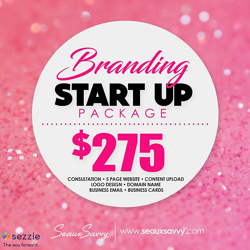 Branding Package (Start Up) - Sezzle