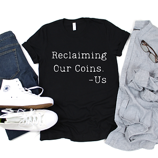 Reclaiming Our Coins - White (Men's)