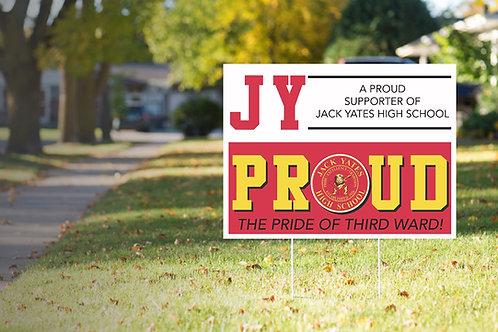 JY Yard Sign