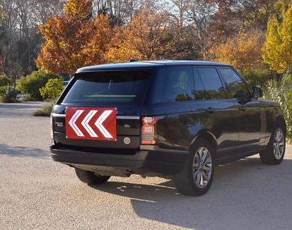 Range Rover - Le Bandeau de Sécurité