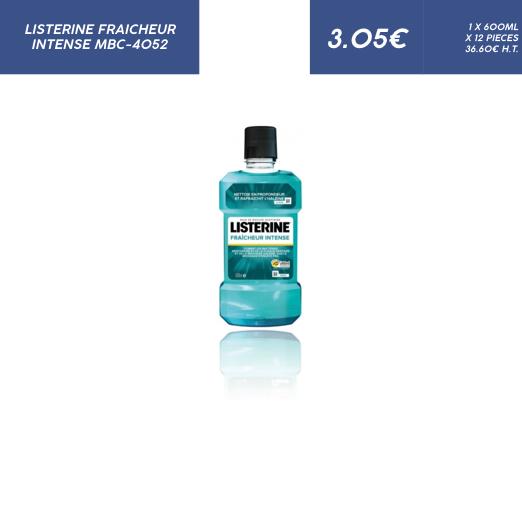 Listerine Fraicheur Intense