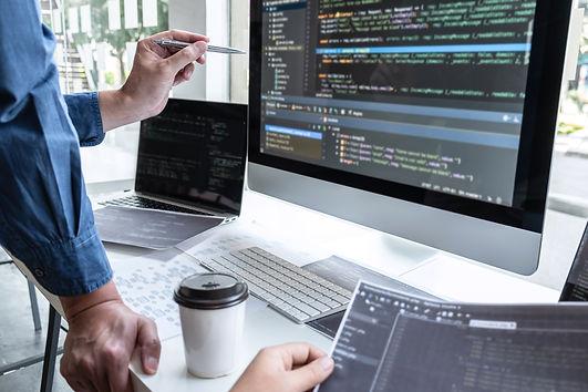team-of-developer-programmer-working-on-
