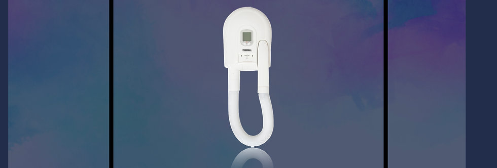 Potente secador de pelo digital para hoteleros;