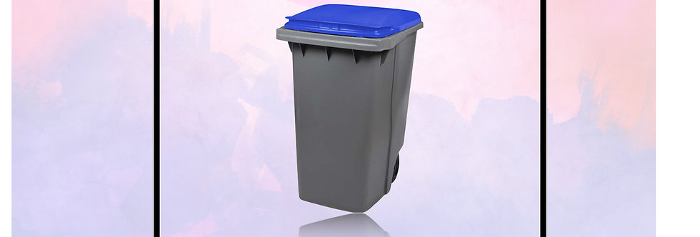 Conteneur à déchets d'exterieur 340L,