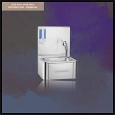 Lavado de manos de acero inoxidable con dosificador - DHSAV