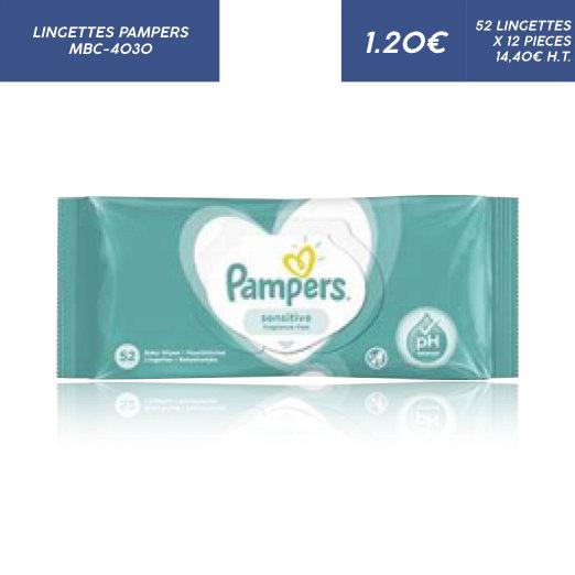 Lingettes Pampers Sensitive