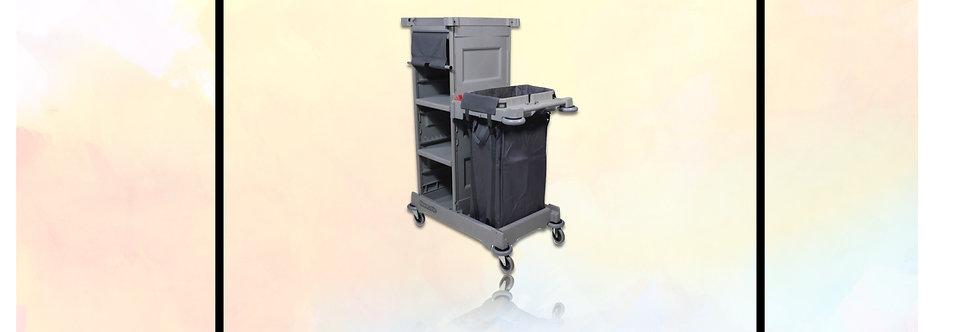 Chariot Hotelier pour couloirs et transport du linge
