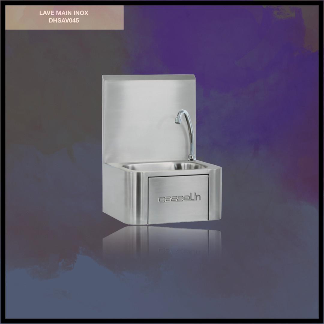 Lave Mains Inox - DHCLV2